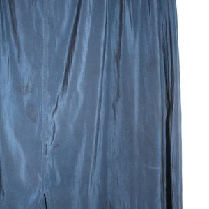H&M Skirts - Just Below the Knee Blue Knit Skirt